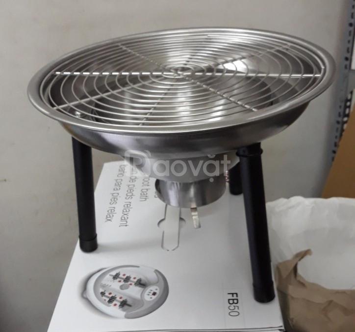 Bếp nướng 3 chân Phù Đổng PD17 - K314 inox cao cấp
