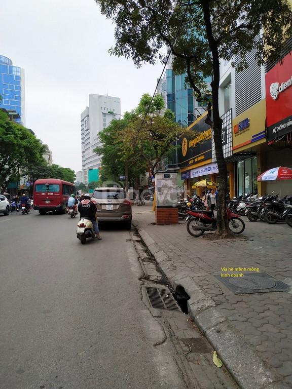 Bán nhà mặt phố Thái Hà 55m MT 5m, 23 tỷ mặt phố kinh doanh văn phòng