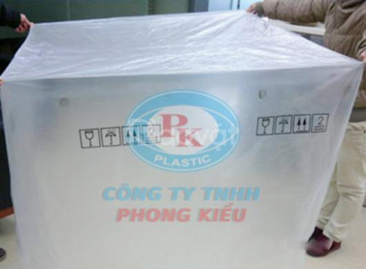 Túi nhựa khổ lớn, túi pe trong suốt - Nhà cung cấp túi pe Phong Kiều