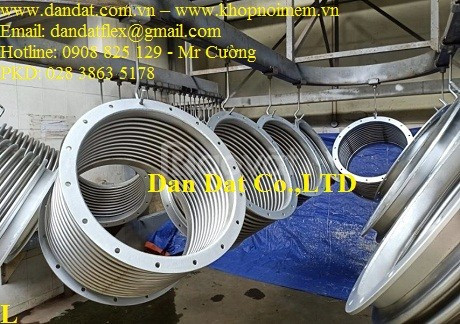Thiết bị chống rung cho ngành CN - ống bù giản nở nhiệt/khớp giãn nở