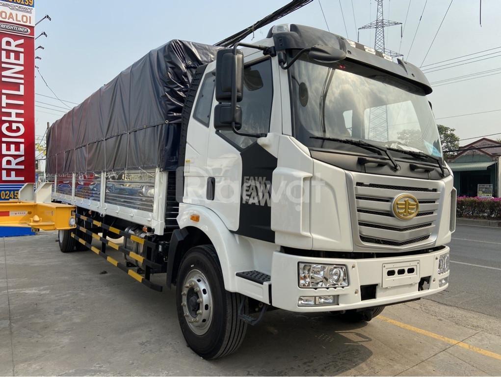 Xe tải Faw 8 tấn thùng dài 9m7 chuyên chở hàng cồng kềnh palet