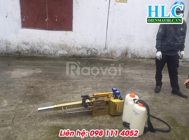 Thực nghiệm máy phun khói diệt côn trùng, trừ sâu đạt hiệu quả cao