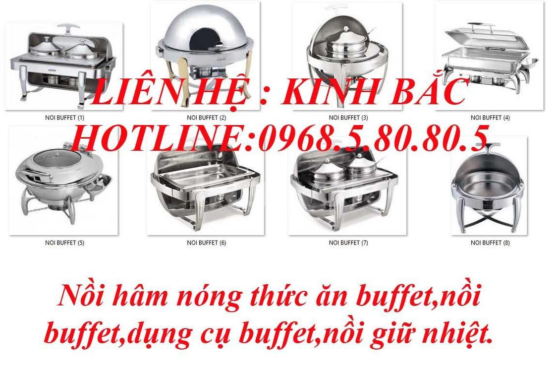 Dụng cụ buffet, dụng cụ hâm nóng thức ăn buffet, Chafing Dish