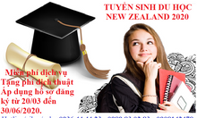 Tuyển sinh du học New Zealand 2020