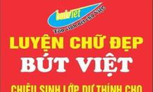 Chiêu sinh lớp luyện chữ đẹp tại trung tâm Bút Việt