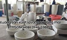 Bán bồn rửa tay lavabo bê tông mài tại Đà Nẵng giá tốt - BTMSONGANH