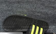 Adidas Cloudfoam Plus Sample màu đen đế đen sọc xanh lá