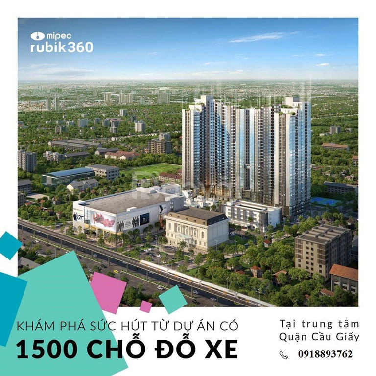 Căn 54m2, tầng 16, full nội thất chung cư Mipec Xuân Thủy PKD CĐT