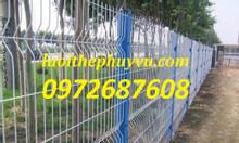 Hàng rào mạ kẽm sơn tĩnh điện, hàng rào mạ kẽm nhũng nóng tại tp HCM