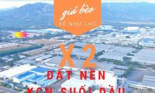 Cần bán 5 lô đất xây nhà trọ KCN Suối Dầu - Cam Lâm, NH hỗ vay