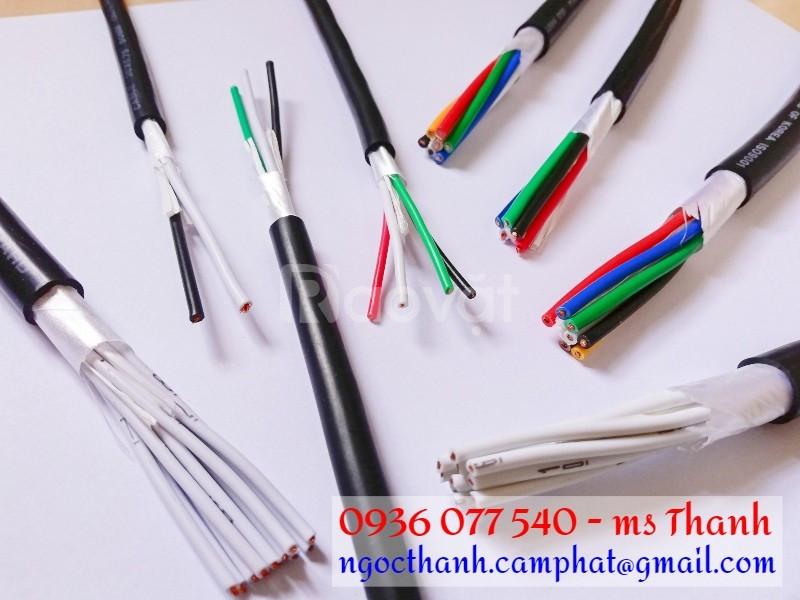 Cáp điều khiển Sangjin 30C x 0.5 mm2 CU/PVC/PVC, không chống nhiễu