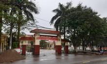 Cần bán lô đất dịch vụ đẹp giá rẻ trước cổng ủy ban xã Thanh Trù