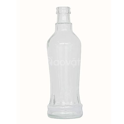 Chai thủy tinh sản xuất theo yêu cầu khách hàng