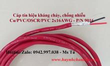 Cáp tín hiệu cho hệ thống PCCC, 1Pair 16AWG (P/N: 9016) Hosiwell Cable