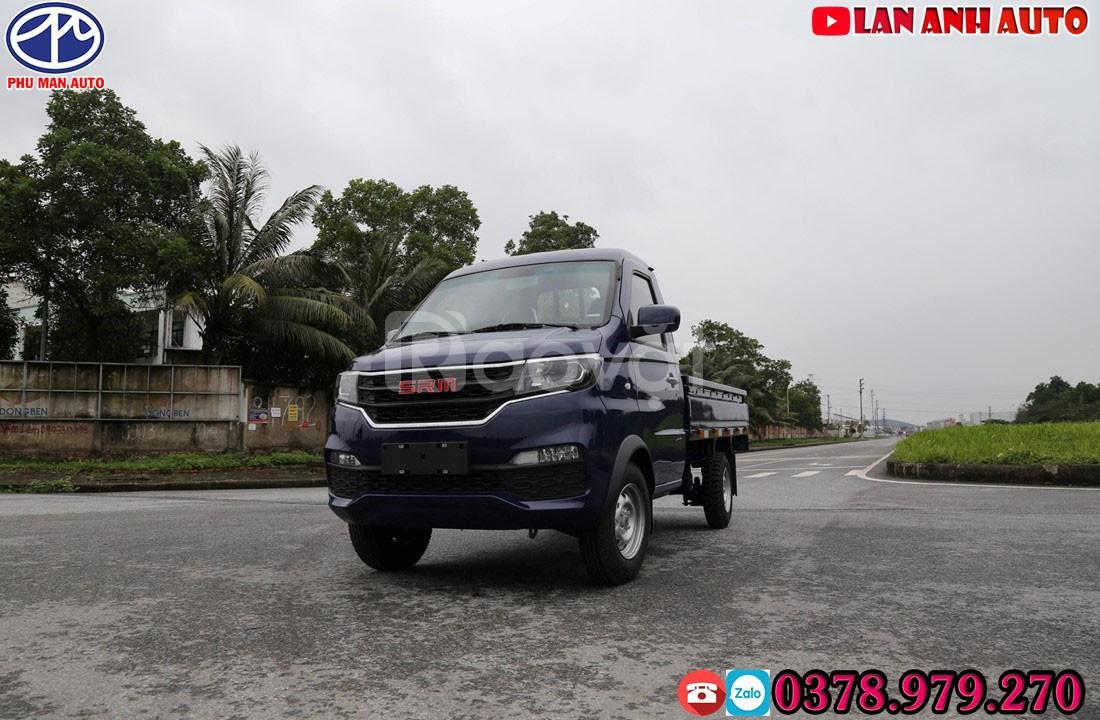 Xe tải SRM 930KG - Dongben đời 2020 máy 1.5L + thùng 2m7| 80 triệu