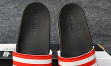 Adidas Plus Cloudfoam Sample màu đen đế trắng quai đỏ sọc trắng