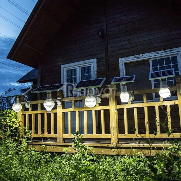 Đèn led quả táo năng lượng mặt trời 15W (ảnh 2)