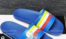 Adidas Cloudfoam Sample dương đế trắng sọc đỏ trắng chuối
