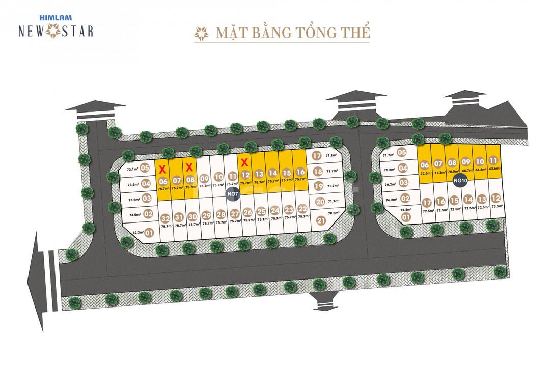 Liền kề 75m2 tại Him Lam New Star Long Biên  (ảnh 5)