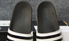 Adidas Plus Cloudfoam Sample màu đen đế trắng quai trắng sọc đen