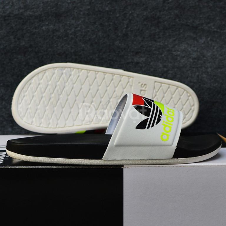 Adidas Plus Cloudfoam Sample màu đen đế trắng ba lá vàng đen đỏ