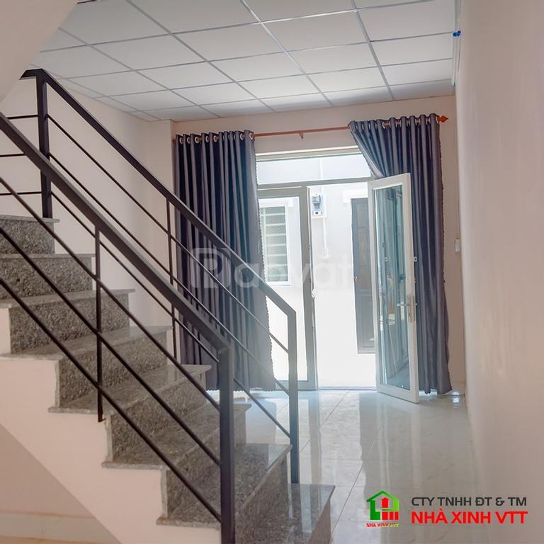Cho thuê nhà phố liền kề 1 trệt 1 lầu full nội thất tiện nghi