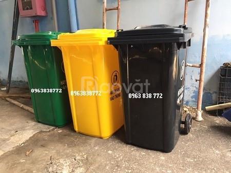Thùng rác 240 lít - giao hàng toàn quốc