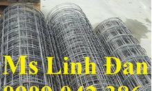 Lưới thép hàn phi 4 chống thấm, lưới thép hàn đổ bê tông