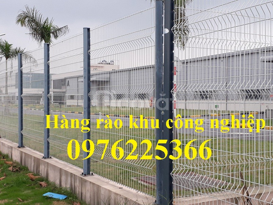 Hàng rào lưới thép hàn, lưới thép hàng rào mạ kẽm nhúng nóng