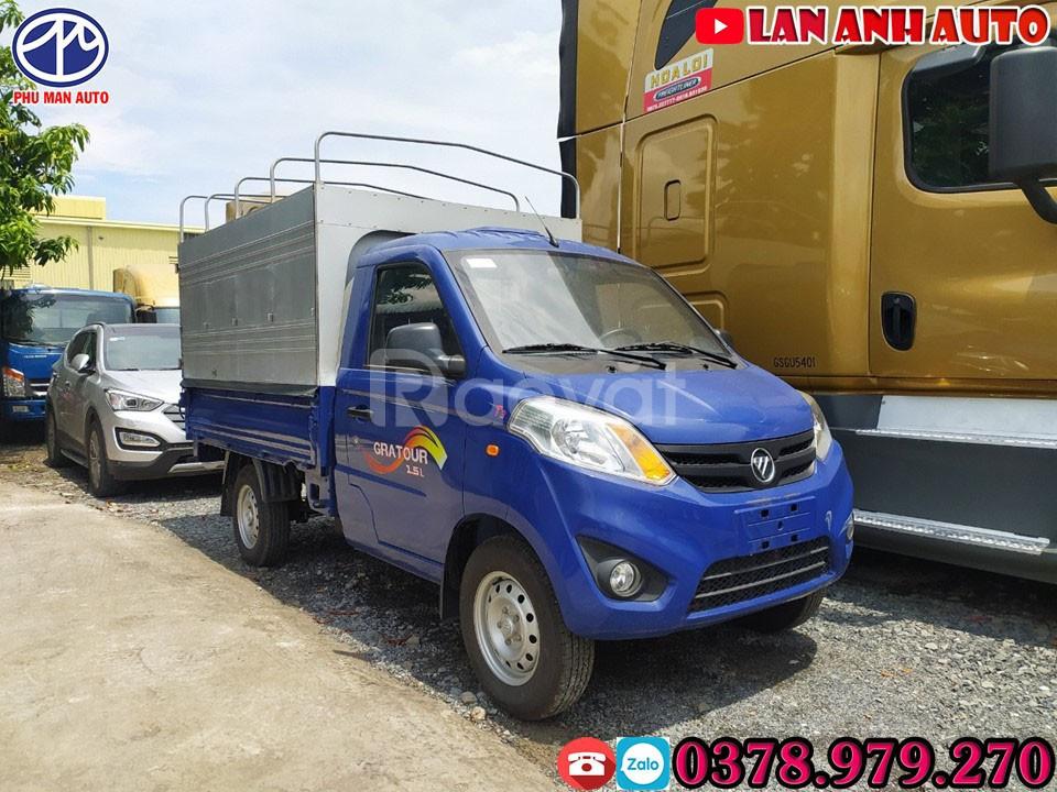 Xe tải 900kg + Foton 1.5L nhập khẩu| chỉ 80 triệu