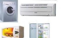 Sửa điều hòa, lò vi sóng, nóng lạnh, máy giặt, tủ lạnh, tivi, bếp từ