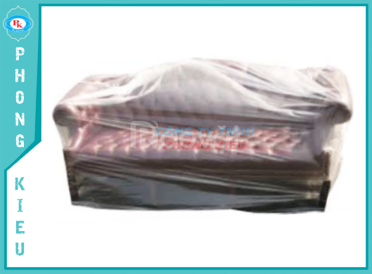Túi pe, màng pe bao trùm hàng hoá, nội thất, máy móc, thiết bị y tế