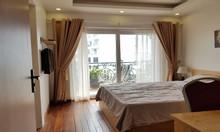 Cho thuê căn hộ dịch vụ tại Hàm Long, Hoàn Kiếm, 45m2, 1PN