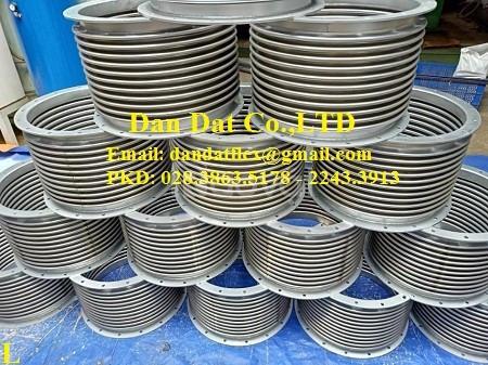 Ống mềm chống rung inox, ống chống rung inox, khớp chống rung máy phát