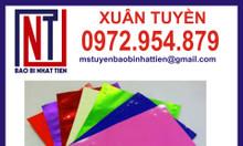 Sản xuất phân phối túi nhôm màu ép 3 biên