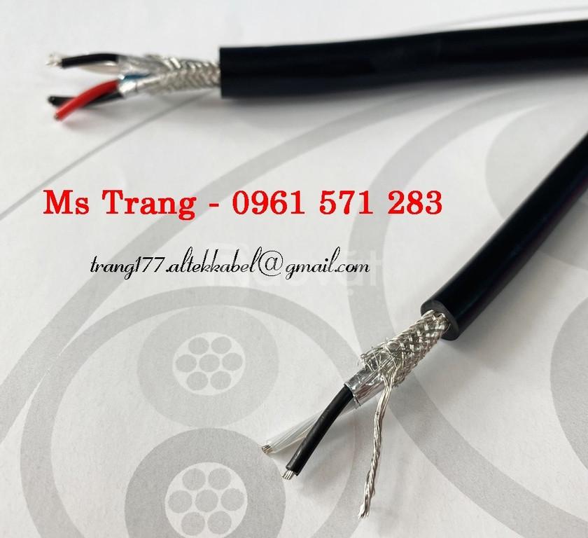 Cáp tín hiệu vặn xoắn chống nhiễu chuẩn rs485