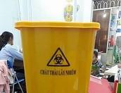Bán thùng rác, thùng đựng rác y tế 15l, 20l