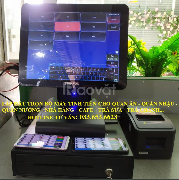 Bán máy tính tiền cho nhà hàng tại quận Bình Thạnh