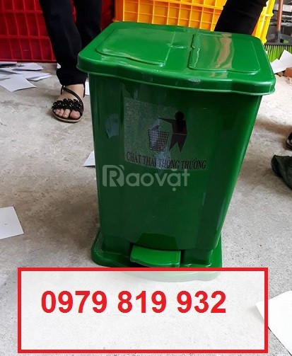 Bán thùng rác, thùng đựng rác y tế 15l 20l