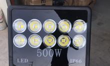 Đèn pha LED 500W sáng