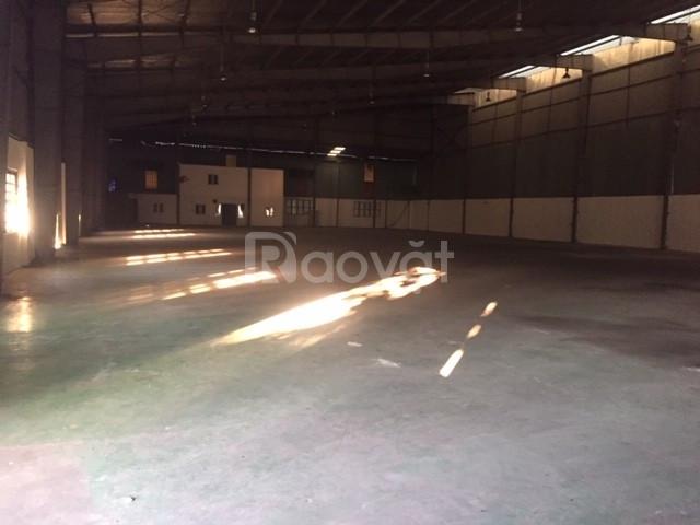 Cần cho thuê 300m2 kho xưởng tiêu chuẩn tại cụm CN vừa và nhỏ Từ Liêm