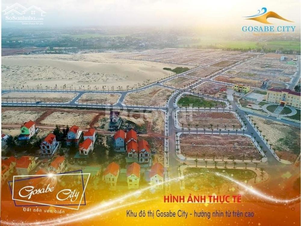 Gosabe city dự án đất nền mặt tiền biển Quảng Bình