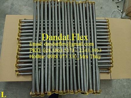 Ống cấp nước mềm inox 304, Dây dẫn nước inox 304, Ống mềm inox 304