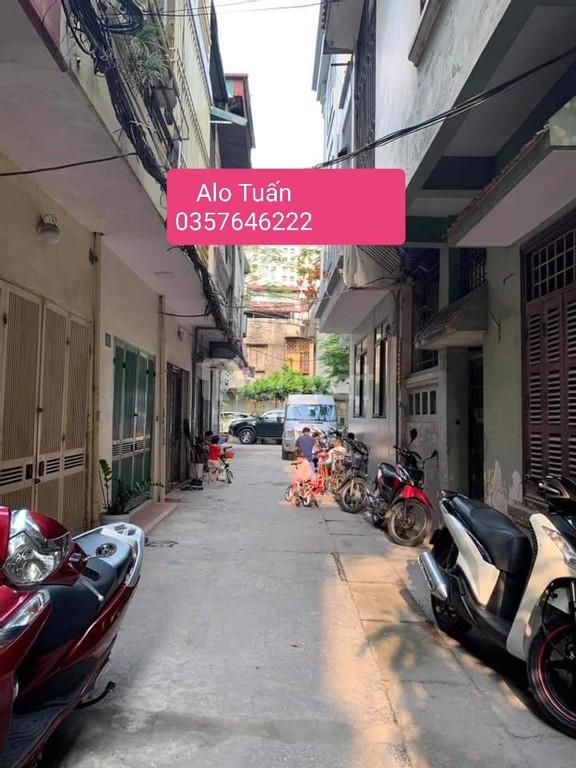 Bán nhà Hồng Mai, Bạch Mai, Hai Bà Trưng, 34m2, 5 tầng, mặt tiền 3.7m