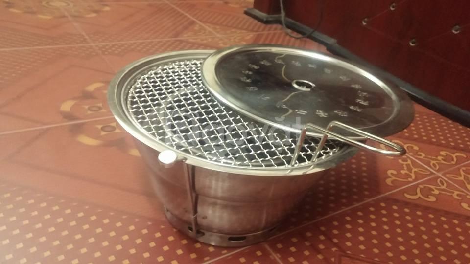 Bếp nướng không khói Hàn Quốc hút dương