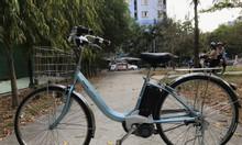 Xe đạp điện trợ lực tay ga hàng Nhật Bãi cũ giá rẻ Tp HCM