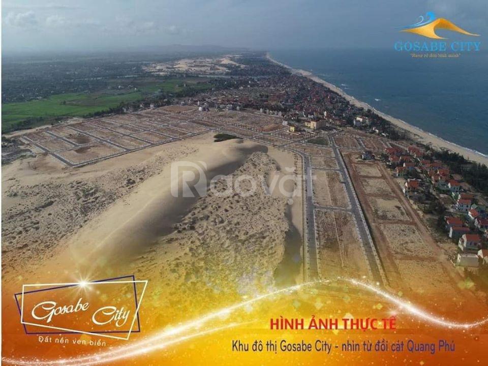 Gosabe City lợi thế sinh lời từ đất biển