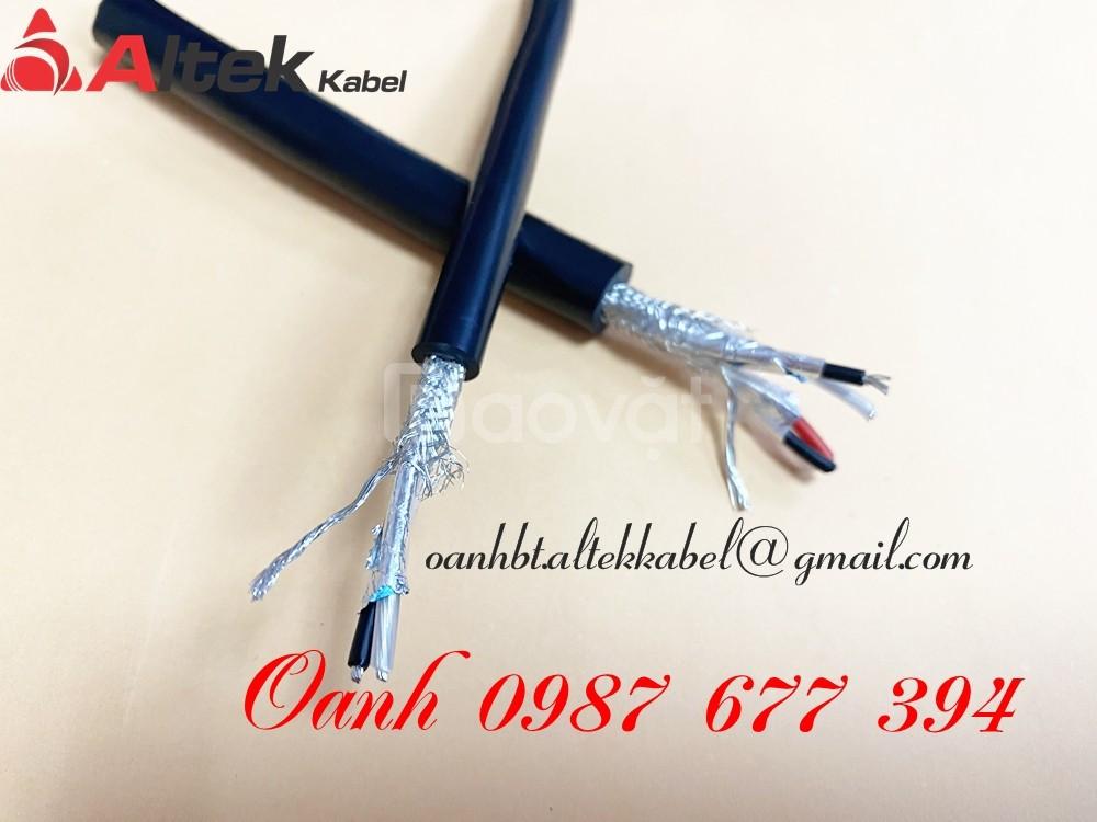Cáp tín hiệu RS485 1Pair 18AWG, 2Pair 18AWG