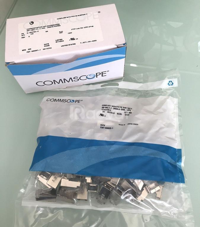 Hạt mạng bọc Sắt Chống nhiễu ftp rj45 CommScope/ AMP
