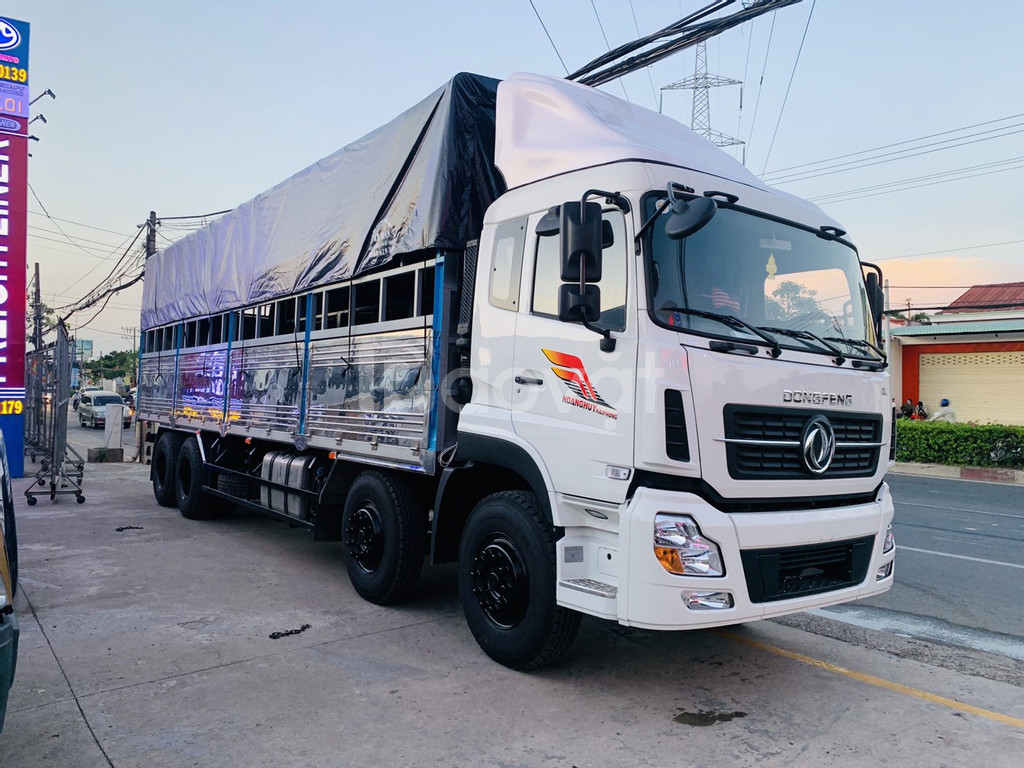 Xe tải 4 chân 18 tấn Dongfeng Hoàng Huy ISL 315